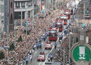 銀座のパレード②