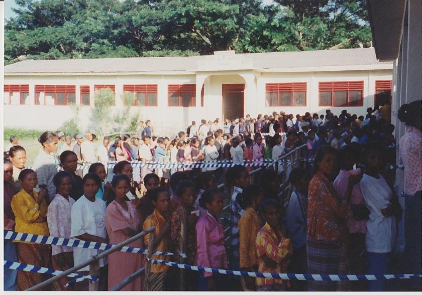 東ティモール2001選挙