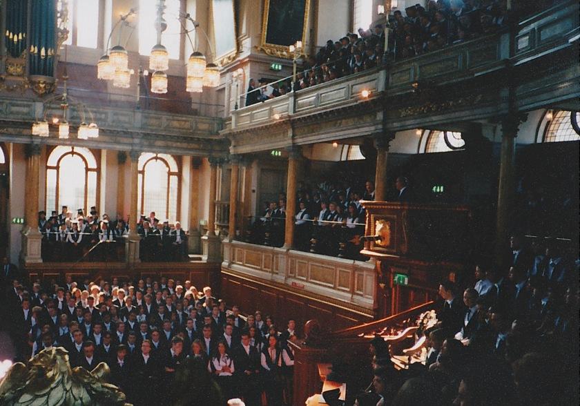 オックスフォード入学式
