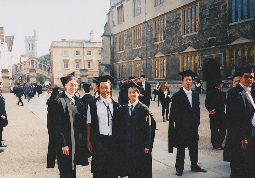 オックスフォード入学式②