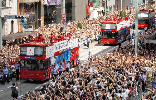 2020 Tokyo Olympic パレード