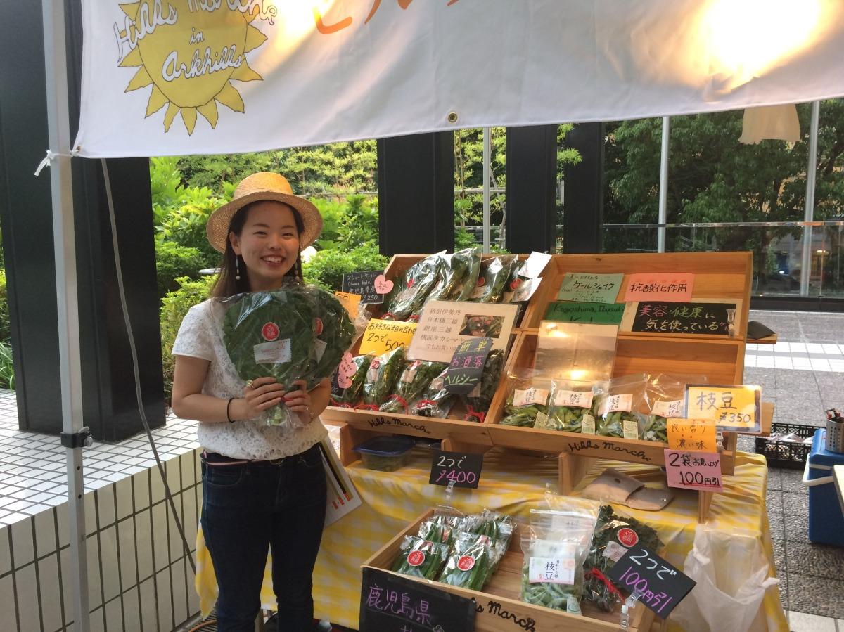 キャベツ専業農家が新宿伊勢丹で連日完売のおしゃれ発信源になるまで