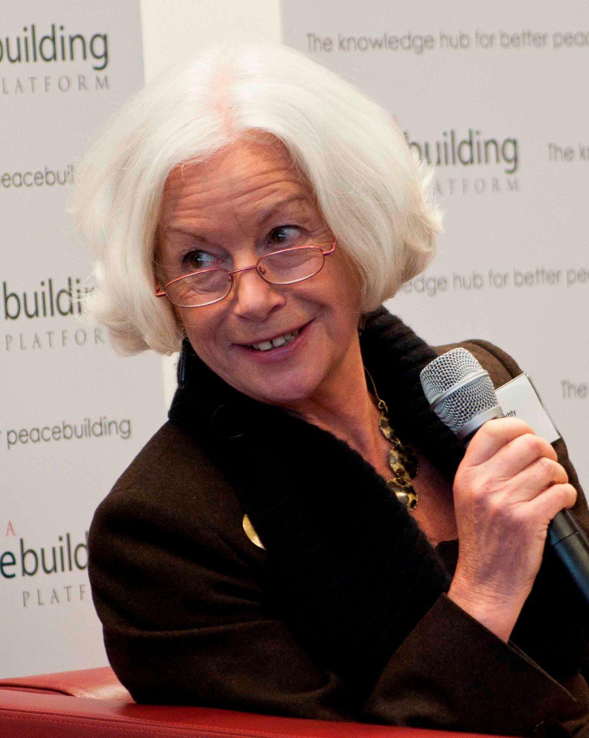 ノーベル平和賞に3度ノミネートされたシーラ・エラワージー「逆説的に聞こえるかも知れないけど、人が『マスク』を抜いでもろさを出せる時にこそ成果がうまれる」