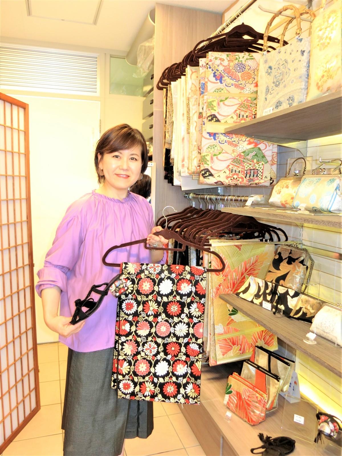 西陣オーダーメードバッグができるまでー大切な祖母の着物を500円で売るわけにはいかない!